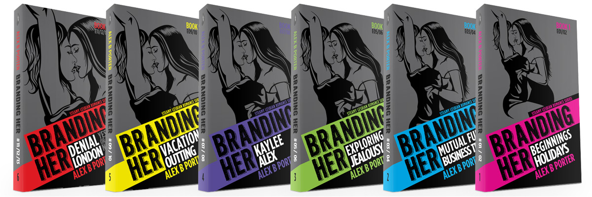 Branding Her - lesbian fiction romance book series