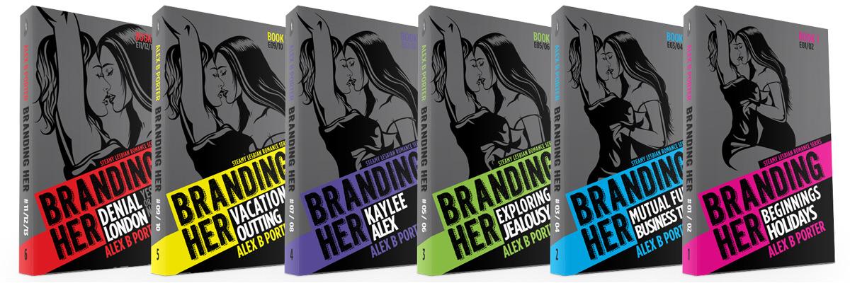 Branding Her - lesbian fiction romance book series