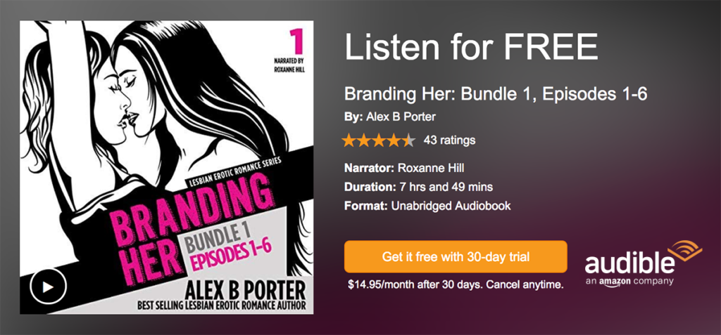 Lesbian audio audiobooks - Branding Her series