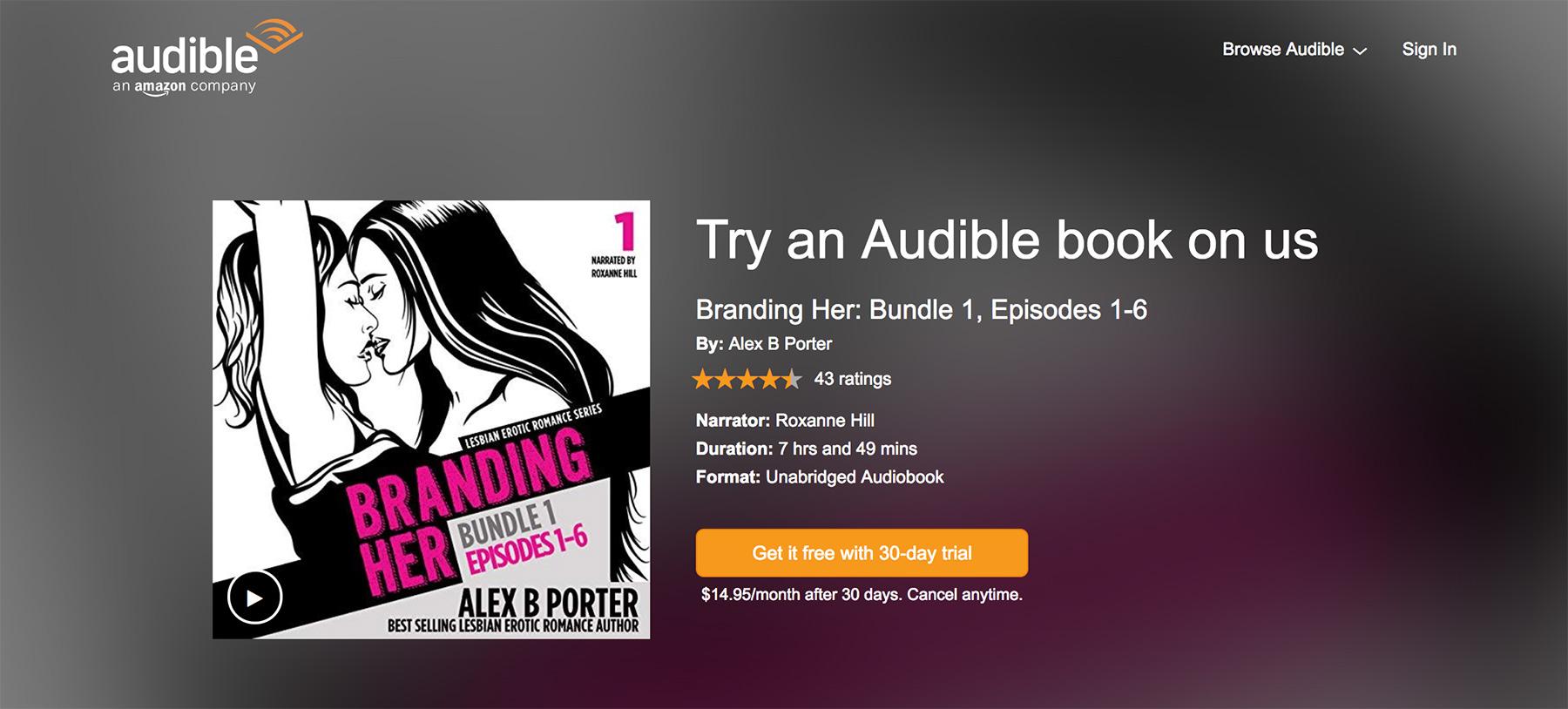 Branding_Her_lesbian_erotic_romance_audiobook