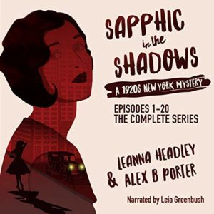 Lesbian stories mystery series audiobook - Sapphic in the Shadows audio audiobook